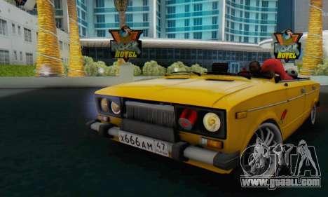 VAZ 2106 Convertible for GTA San Andreas