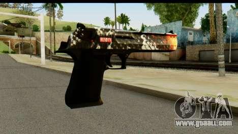 Kill Em All Desert Eagle for GTA San Andreas second screenshot