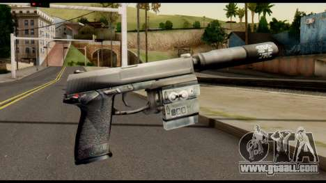Silenced Socom from Metal Gear Solid for GTA San Andreas second screenshot