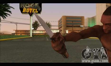 Knife Romanian CR1 for GTA San Andreas third screenshot
