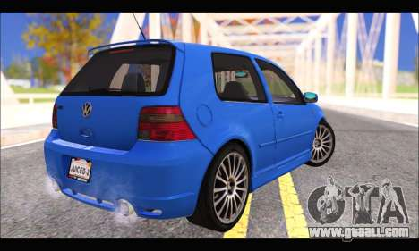 VW Golf R32 - Stock for GTA San Andreas left view