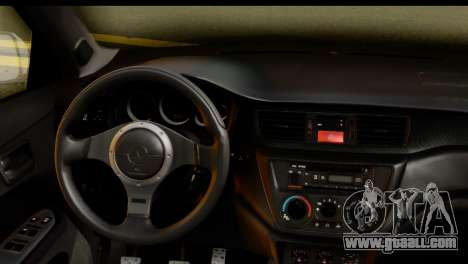 Mitsubishi Lancer Evo IX for GTA San Andreas