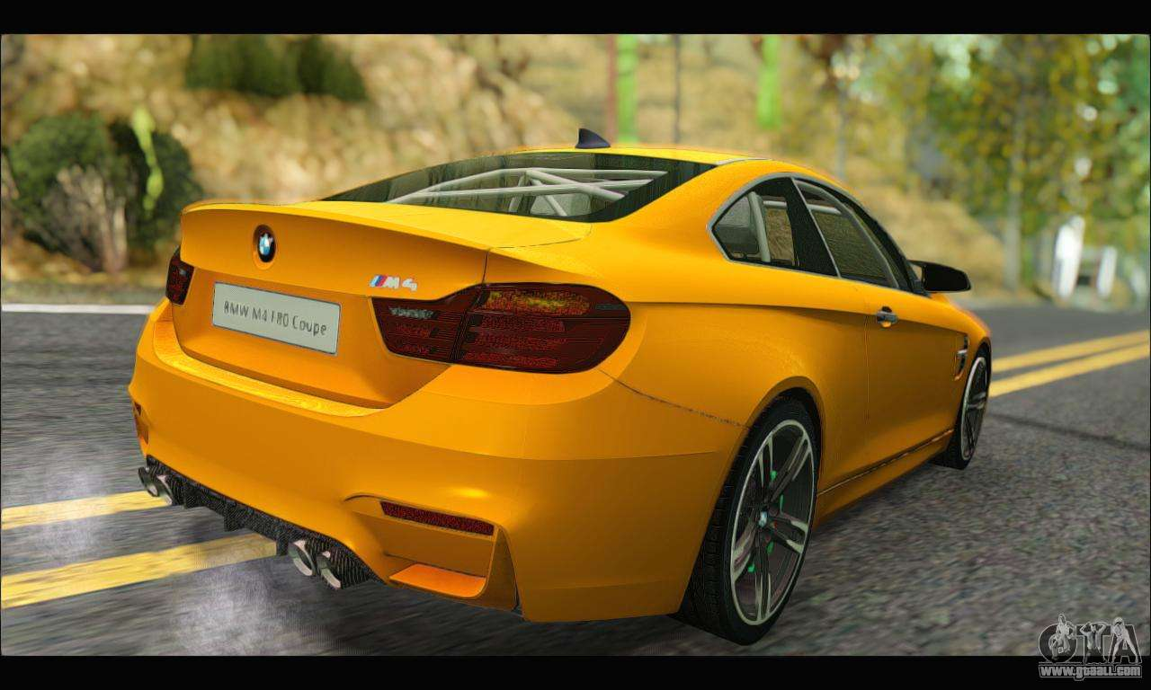 Bmw M4 F80 Coupe 1 0 2014 For Gta San Andreas