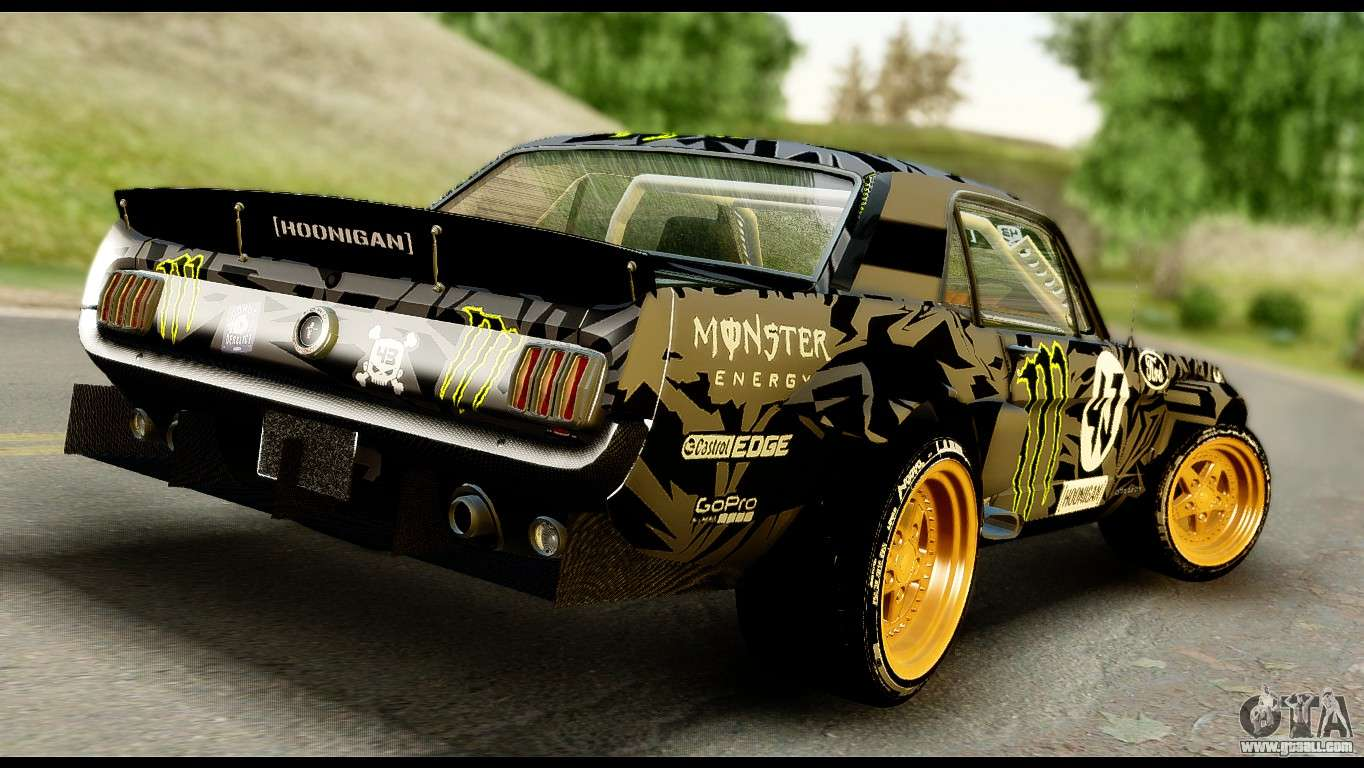 Ford Mustang 1965 Ken Block For Gta San Andreas