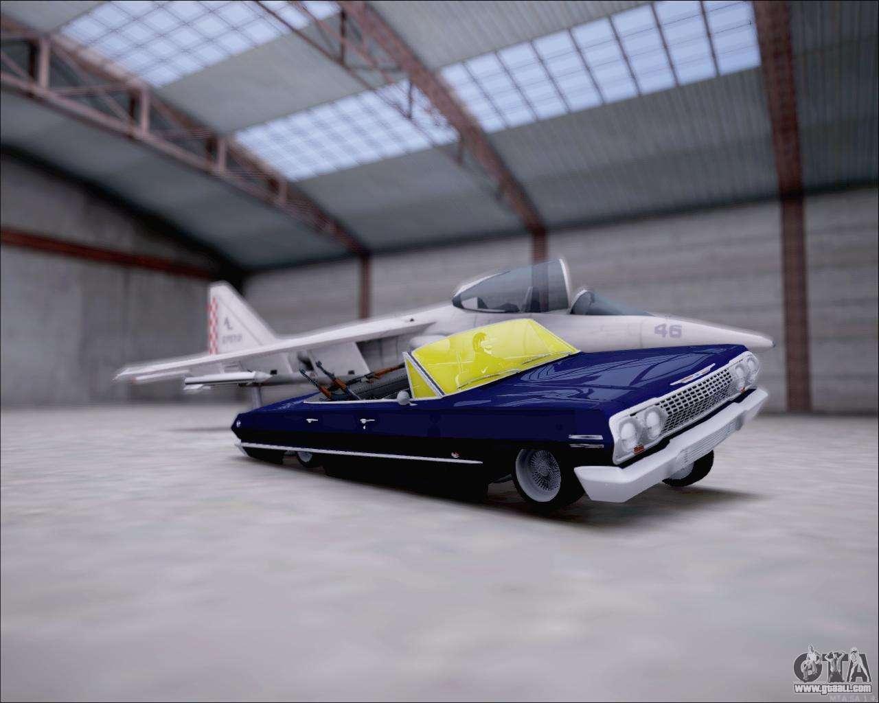 Chevrolet impala 4 door hardtop 1963 for gta san andreas - Chevrolet Impala 1963 For Gta San Andreas