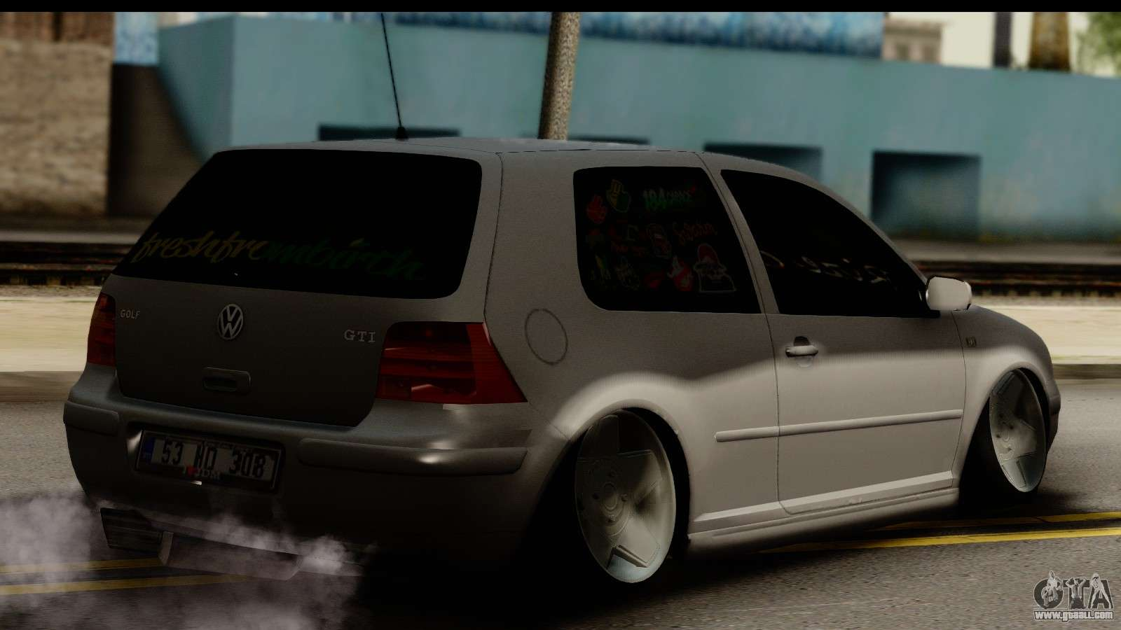 volkswagen golf 4 tuning for gta san andreas. Black Bedroom Furniture Sets. Home Design Ideas
