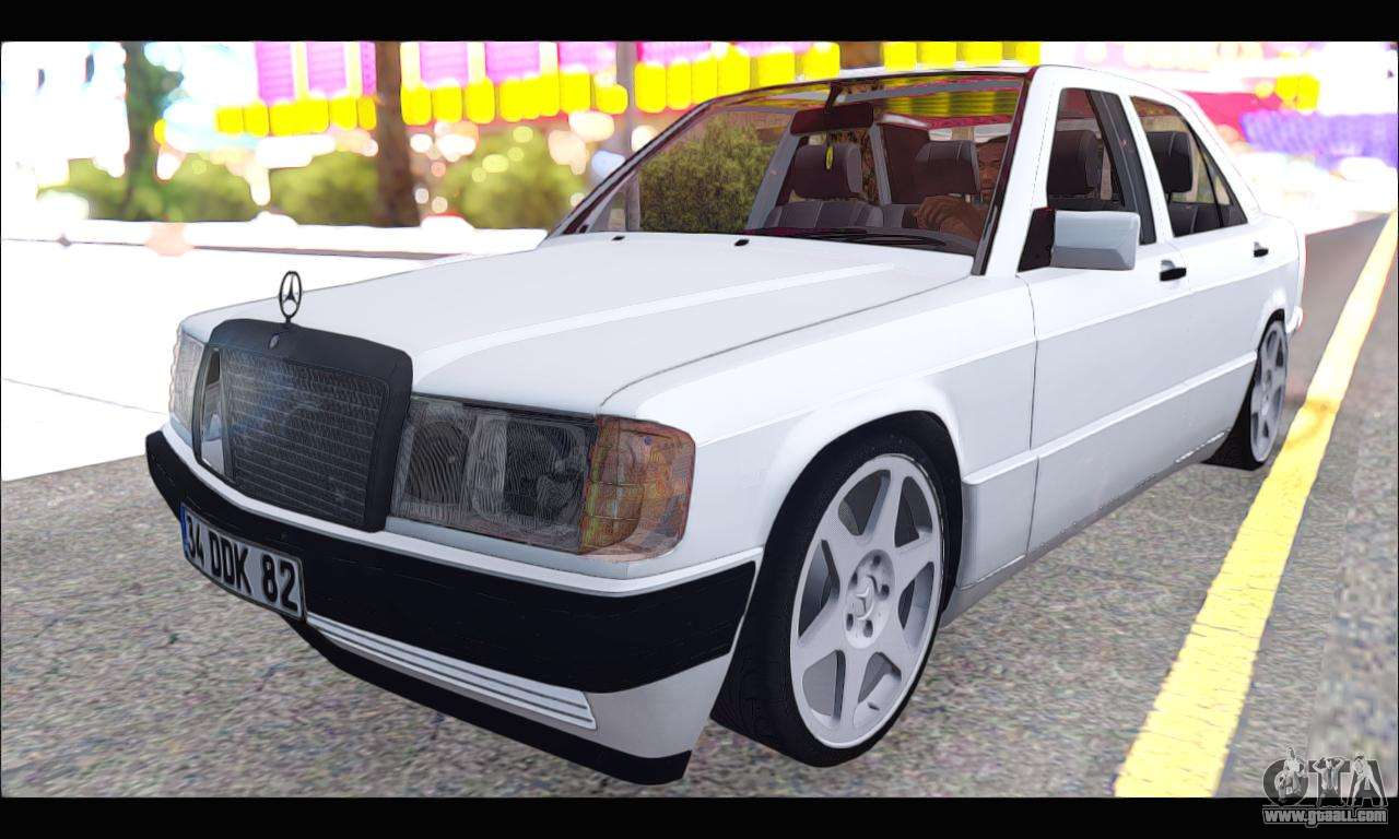 Gta Sa on Mercedes Benz 190e 2 6