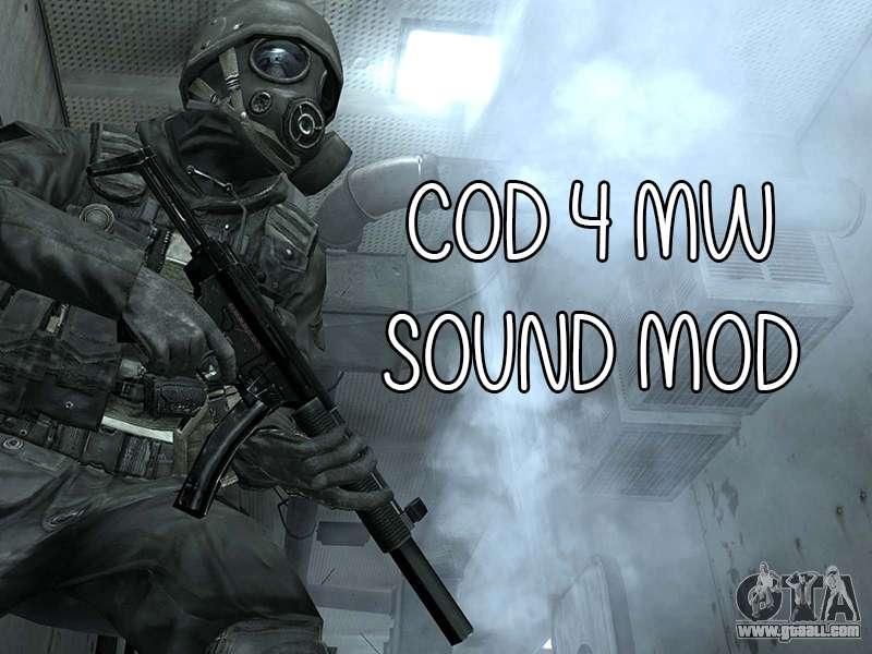 COD MW Sound Mod for GTA San Andreas
