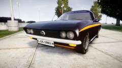 Opel Manta A Black Magic for GTA 4
