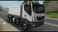 Iveco Trakker 2014 Tipper Snow for GTA San Andreas