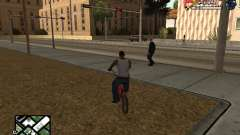 С-HUD by SampHack v.21 for GTA San Andreas
