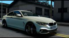 BMW 4-series F32 Coupe 2014 Vossen CV5 V1.0 for GTA San Andreas