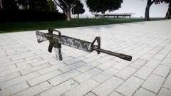 The M16A2 rifle siberia for GTA 4
