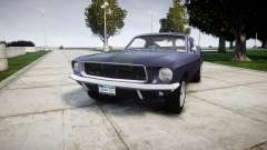 Ford Mustang GT Fastback 1968 Auto Drag III