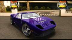 Vapid Bullet Gt (GTA IV TBoGT) (IVF) for GTA San Andreas