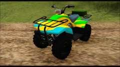ATV Color Camo Army Edition for GTA San Andreas