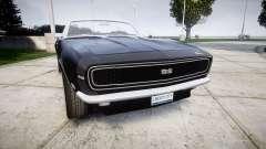 Chevrolet Camaro Mk.I 1968 rims2 for GTA 4
