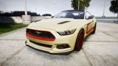 Ford Mustang GT 2015 Custom Kit red stripes