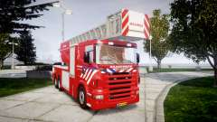 Scania R580 Dutch Fireladder [ELS]