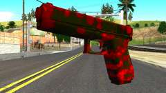 Pistol with Blood for GTA San Andreas