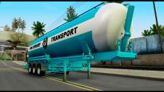Mercedes-Benz Actros Trailer VAN OPDORP for GTA San Andreas