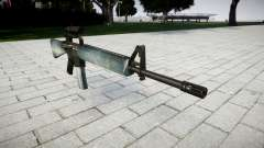 The M16A2 rifle [optical] icy