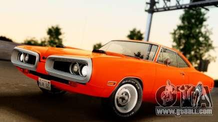 Dodge Coronet Super Bee 1970 for GTA San Andreas