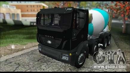 Iveco Trakker 2014 Concrete Snow (IVF & ADD) for GTA San Andreas