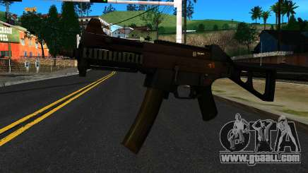 UMP9 from Battlefield 4 v2 for GTA San Andreas