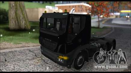 Iveco Trakker 2014 Snow (IVF & ADD) for GTA San Andreas