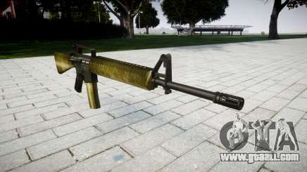 The M16A2 rifle olive for GTA 4