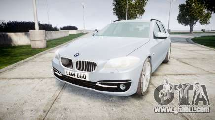 BMW 525d F11 2014 Facelift [ELS] Unmarked for GTA 4