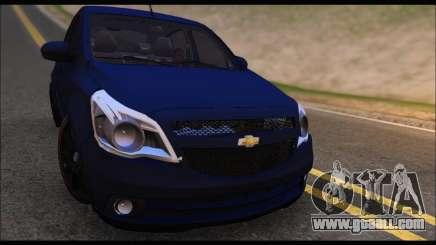 Chevrolet Agile Tunning for GTA San Andreas