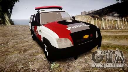 Chevrolet Blazer 2010 Tactical Force [ELS] for GTA 4