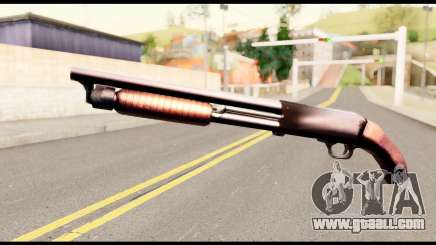 M37 from Metal Gear Solid for GTA San Andreas