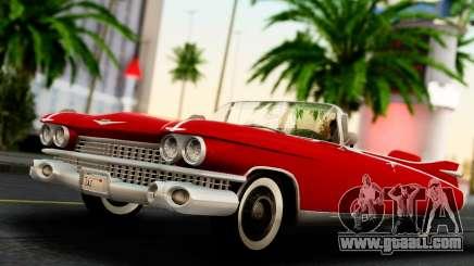 Cadillac Eldorado Biarritz Convertible 1959 for GTA San Andreas