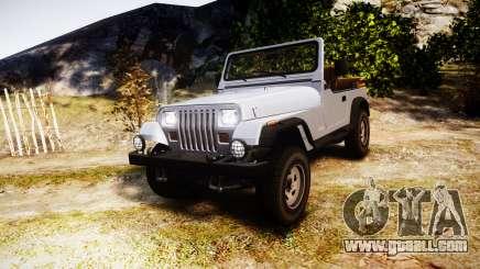 Jeep Wrangler 1988 for GTA 4