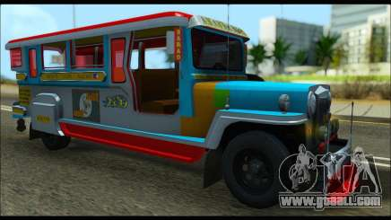 Jeepney Legacy (Boxville) for GTA San Andreas