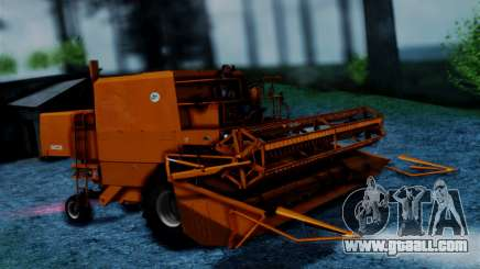 FMZ BIZON Super Z056 1985 Orange for GTA San Andreas