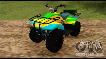 ATV Color Camo Army Edition for GTA San Andreas