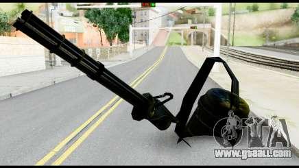 Raven Vulcan Gun from Metal Gear Solid for GTA San Andreas