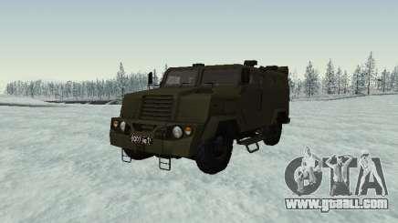 MIC-3924 Armored Bear for GTA San Andreas