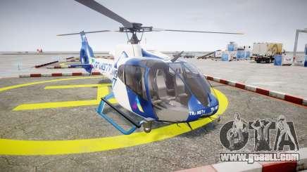 Eurocopter EC130 B4 TRANS TV for GTA 4