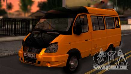GAZelle 3221 2007 for GTA San Andreas