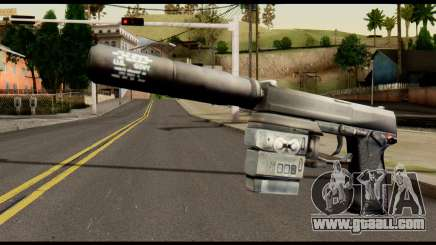 Silenced Socom from Metal Gear Solid for GTA San Andreas
