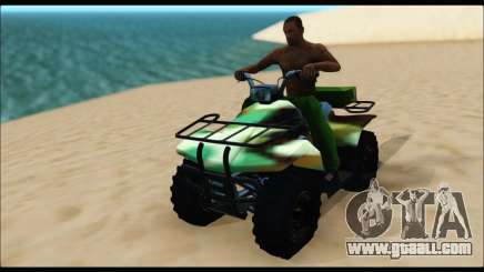 ATV Army Edition for GTA San Andreas