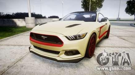 Ford Mustang GT 2015 Custom Kit red stripes for GTA 4