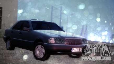 Mercedes-Benz C220 1997 for GTA San Andreas