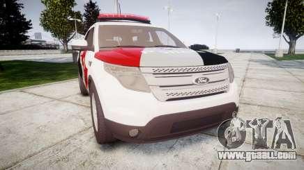 Ford Explorer 2013 Police Forca Tatica [ELS] for GTA 4