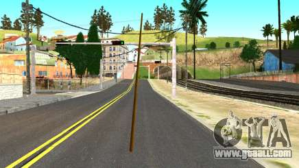 Poolcue from GTA 4 for GTA San Andreas
